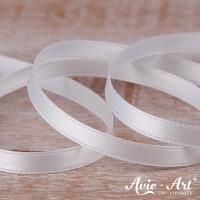 Satinband cremeweiß - 6mm für Hochzeit und Taufe