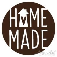 Motivstempel - Homemade rund - Ø 40 mm