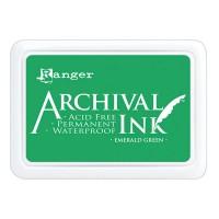 Archival Ink wasserfestes Stempelkissen - emerald