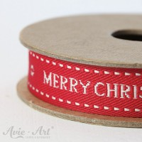 Webband Christmas Wishes - rot