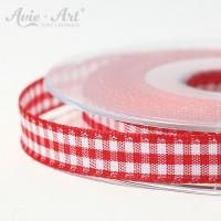 rotes Karoband 10 mm