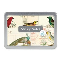 "Cavallini & Co; Sticky Notes ""Birds"" Haftnotizen"