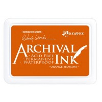 Archival Ink wasserfestes Stempelkissen - orange blossom