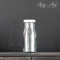 Glasflasche mit Schraubdeckel - 150 ml