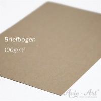 Briefbogen Naturpapier 100 g - DIN A4 (210 x 297 mm)