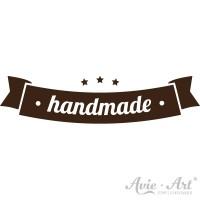 Motivstempel Banner - handmade
