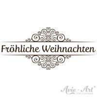 """Motivstempel """"Fröhliche Weihnachten"""" #2"""