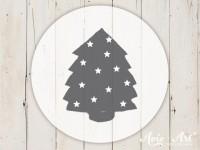 kleiner Motivstempel mit Weihnachtsbaum - Weihnachtsmotiv