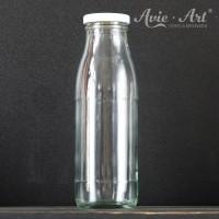 Glasflasche mit Schraubdeckel - 500 ml
