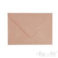 25 Briefumschläge Kraftpapier gerippt - DIN C6 (114 x 162 mm)