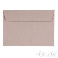 25 Briefumschläge Naturpapier grau - 114 x 162 mm (DIN C6)