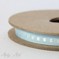 Webband Box Stitch - hellblau