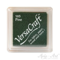 dunkelgrünes Pigmentstempelkissen für die Anwendung auf unbeschichtetem Papier & Stoff