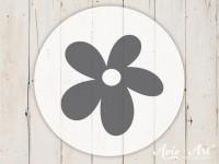 kleiner Motivstempel mit Blume - Blumenmotiv