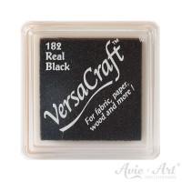 schwarzes Pigmentstempelkissen für die Anwendung auf unbeschichtetem Papier & Stoff