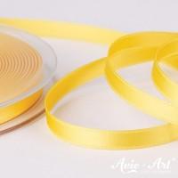 Satinband gelb - 6mm für Dekoration und Geschenke