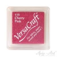 rosanes Pigmentstempelkissen für die Anwendung auf unbeschichtetem Papier & Stoff
