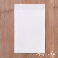 25 weiße Papiertüten - 105 x 150 mm  (Gr. 3)