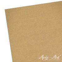 Naturpapier - Aufkleber ungestanzt - braun (1 Bogen)