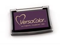 violettes Pigmentstempelkissen für die Anwendung auf unbeschichtetem Papier