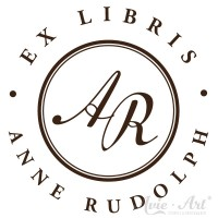 Ex Libris Stempel Initialen