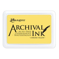 Archival Ink wasserfestes Stempelkissen - chrome yellow