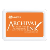 Archival Ink wasserfestes Stempelkissen - monarch orange