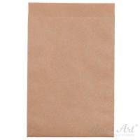 25 braune Papiertüten - 130 x 180 mm  (Gr. 4)