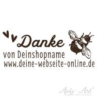 Stempel für selbstgemachten Bienenhonig - Design 1
