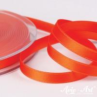 Satinband orange - 6mm für Dekoration und Geschenke