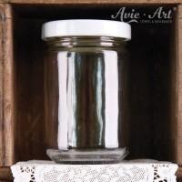 Marmeladenglas mit Deckel, rund - 150 ml