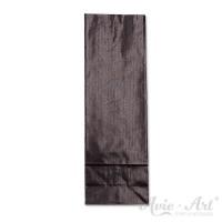 schwarze Papiertüten mit Blockboden - 50 x 80 x 240 mm