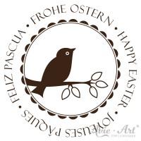 Motivstempel - Frohe Ostern - Ø 30, Ø 40 oder Ø 50 mm