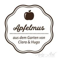 Design 1 - Küchenstempel für Apfelmus