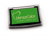 grünes Pigmentstempelkissen für die Anwendung auf unbeschichtetem Papier