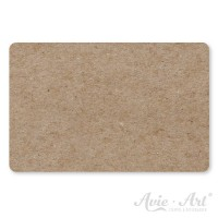 50 Vistenkarten aus Naturpapier - 55 x 85 mm