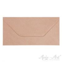 25 - Briefumschläge Kraftpapier gerippt - DIN Lang (110 x 220 mm)