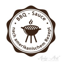 Stempel Küche Homemade - Sauce BBQ - Design 1