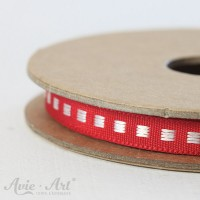 Webband Box Stitch - rot