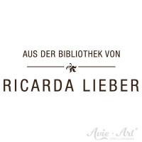 Typografischer Ex Libris Stempel Design 1