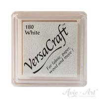 weißes Pigmentstempelkissen für die Anwendung auf unbeschichtetem Papier & Stoff