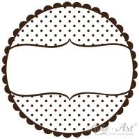 Motivstempel - Polka Dots - Ø 30, Ø 40 oder Ø 50 mm