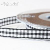 schwarzes Karoband 10 mm
