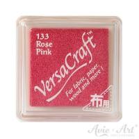pinkes Pigmentstempelkissen für die Anwendung auf unbeschichtetem Papier & Stoff