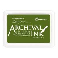 Archival Ink wasserfestes Stempelkissen - fern green