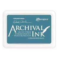 Archival Ink wasserfestes Stempelkissen - cornflower blue