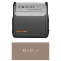 Modico Flashstempel M6 - schwarzes Gehäuse