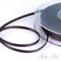 schmales Satinband schwarz