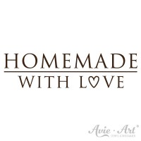 "Motivstempel ""homemade with love"""