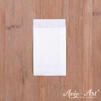 25 weiße Papiertüten - 63 x 93 mm (Gr. 1)